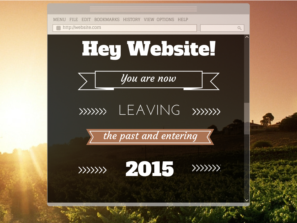 Website Resolutions for 2015