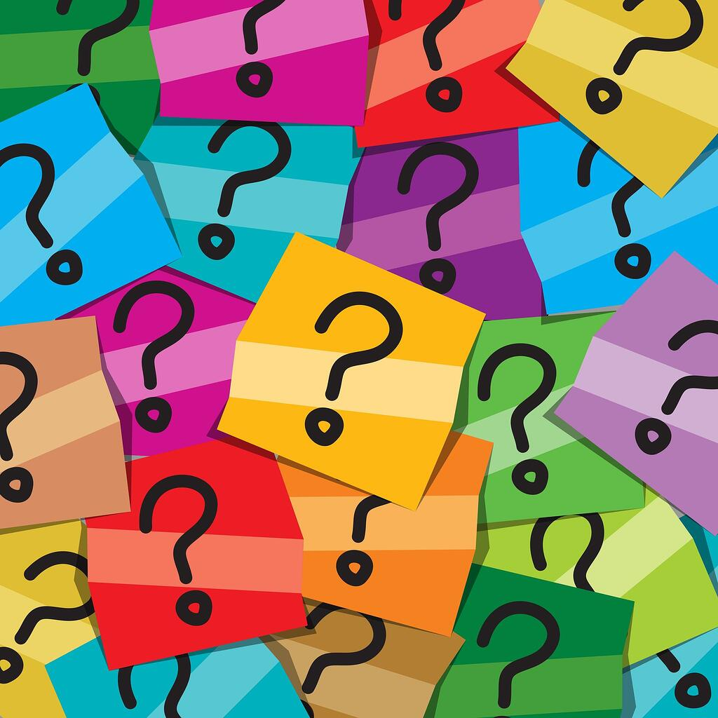 Multicolored sticky notes with question marks: Copyright: https://www.123rf.com/profile_artqu