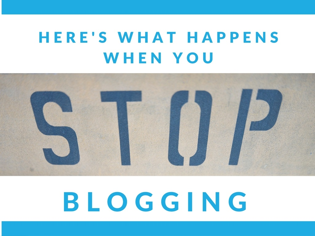 Here's What Happens When You Don't Blog for a Month