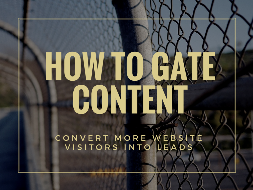 The Right Way to Gate Your Content and Capture Leads