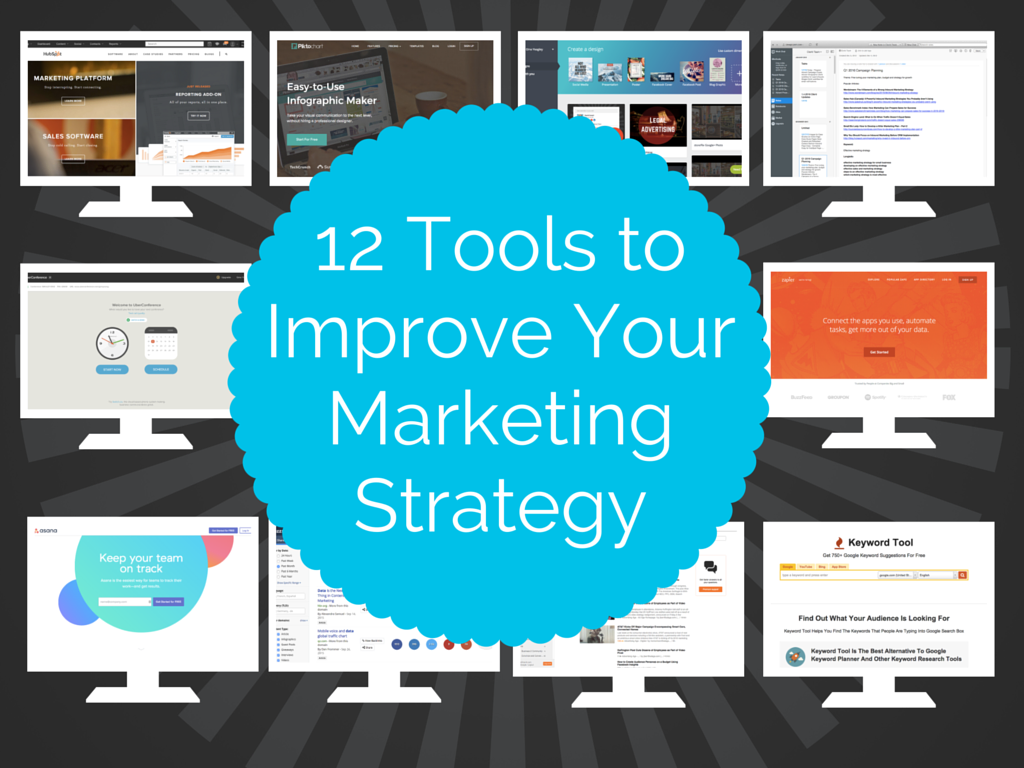 12 Useful Tools for Developing an Effective Marketing Strategy