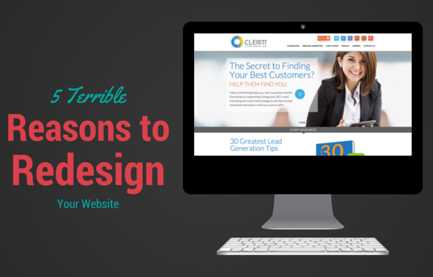 5 Terrible Reasons for a Website Redesign