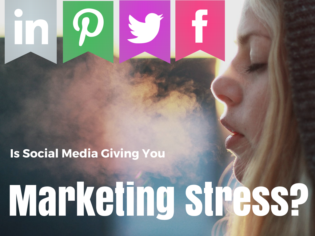 Breathe In, Breathe Out: Social Media Planning to Ease Marketing Stress