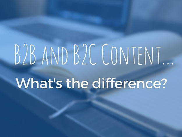 B2B and B2C Content: What's the Difference?