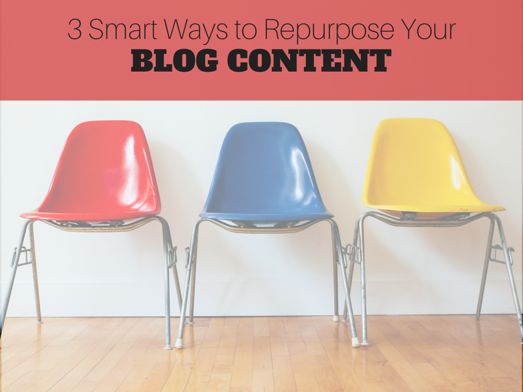 3 Smart Ways to Repurpose Your Blog Content
